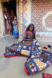 Stammes- Indien Stockbild