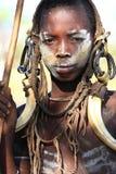 Stammes- Junge Stockfotografie