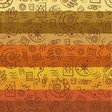 Stammes- Kunst Lizenzfreies Stockfoto