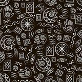 Stammes- Kunst Stockbild