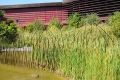 Stammes- Kunstmuseum von Quai Branly in Paris Lizenzfreie Stockfotografie