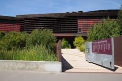 Stammes- Kunstmuseum von Quai Branly in Paris Lizenzfreies Stockfoto