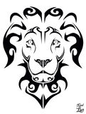 Stammes- Löwe Stockbilder