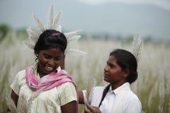 Stammes- Mädchen lizenzfreies stockfoto