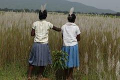 Stammes- Mädchen lizenzfreies stockbild