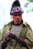Stammes- Mann Stockbilder
