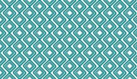 Stammes- Masche der einfachen modernen abstrakten Knickente deckt Muster mit Ziegeln Stockbilder