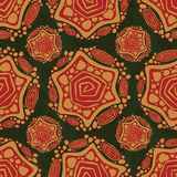 Stammes- Muster Stockbild