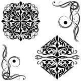 Stammes- Muster Stockfotografie