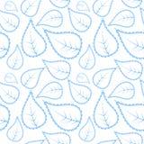 Stammes- Muster in der blauen Farbe Lizenzfreies Stockfoto