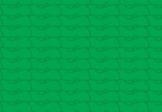 Stammes- Muster der einfachen modernen abstrakten grünen Veggies Stockfoto