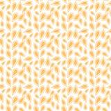 Stammes- Muster in der gelben Farbe Lizenzfreies Stockbild
