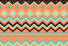 Stammes- Muster der Vektorillustration Stockfoto