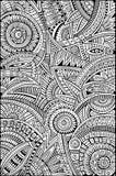 Stammes- Muster des ethnischen Hintergrundes des abstrakten Vektors Stockbild