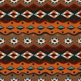 Stammes- nahtloses Muster Stockfoto