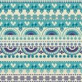 Stammes- nahtloses Muster Stockfotografie
