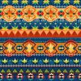 Stammes- nahtloses Muster Lizenzfreie Stockfotografie