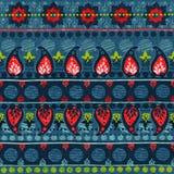 Stammes- nahtloses Muster Stockbild