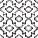 Stammes- nahtloses Muster stock abbildung