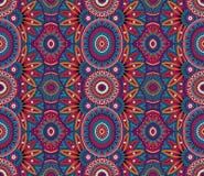 Stammes- nahtloses Muster des ethnischen Hintergrundes Lizenzfreies Stockfoto