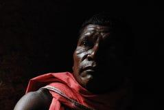Stammes- Portrait Stockfotos