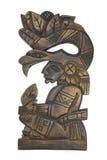 Stammes- Schnitzen stockfoto