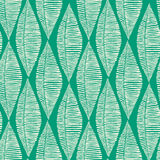 Stammes- Smaragdblatt-nahtloses Muster