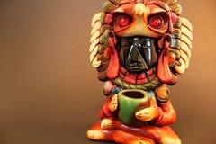 Stammes- Statue Stockfotografie