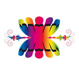Stammes- Symbol Lizenzfreies Stockbild