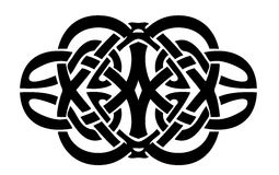 Stammes- Tätowierung Stockbilder