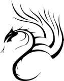 Stammes- Tätowierung des Drachen Lizenzfreie Stockfotos