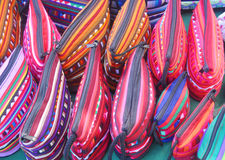 Stammes- Tasche. Stockfoto