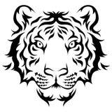 Stammes- Tiger Lizenzfreie Stockbilder