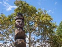 Stammes- Totem Stockfotos
