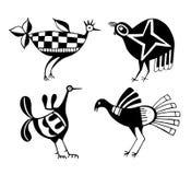 Stammes- Vögel Stockfotos