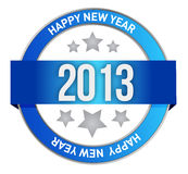 Stamp for 2013 Royalty Free Stock Photos