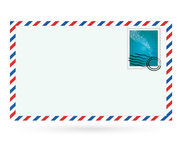 Stamp. Vector stamp   and letter  for  printing or web site Royalty Free Stock Photo