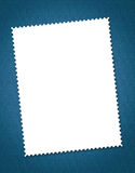 Stamp. Blank postal stamp made for wast design perspective royalty free stock image