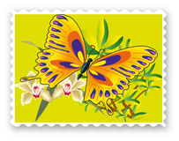 Stamp Royalty Free Stock Photo