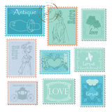 Stamp Royalty Free Stock Images