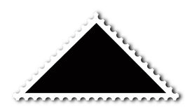 Stamp. Make your own stamp with this triangular shape vector illustration
