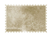 Stamp. A very old blank stamp template royalty free stock images