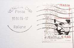Stamp. Post stamp from Venice, Italy Stock Images