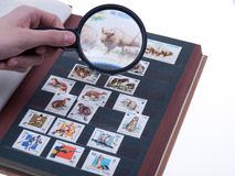 Stamp album Stock Photography