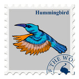 Stamp with animal Royalty Free Stock Photos