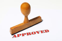 Stamp Approved Stock Photos