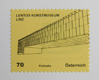 Stamp of Austria Stock Image