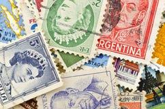 Stamp background Stock Photo