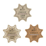 Stamp best choice badge Stock Photos