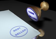 Stamp: BEST SELLER Stock Photos